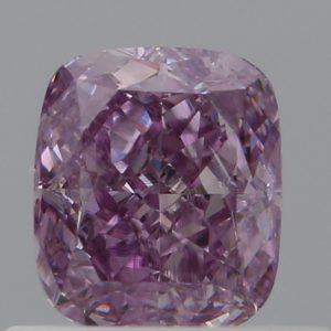 Rosa Diamant im Kissenschliff